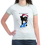 Have a Kosher Christmas Jr. Ringer T-Shirt