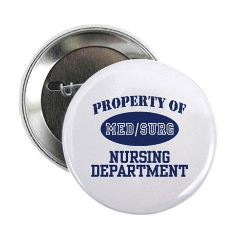 "Property of Med/Surg Nursing Department 2.25"" Butt"