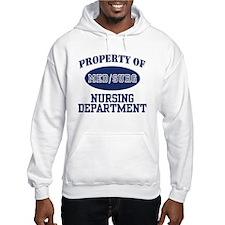 Property of Med/Surg Nursing Department Hoodie