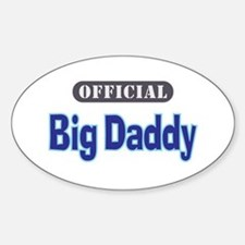 Official Big Daddy - Oval Decal