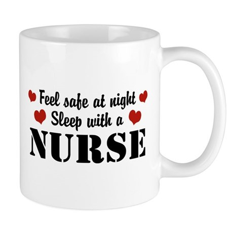 Feel Safe Sleep with a Nurse Mug