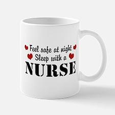 Feel Safe Sleep with a Nurse Mug