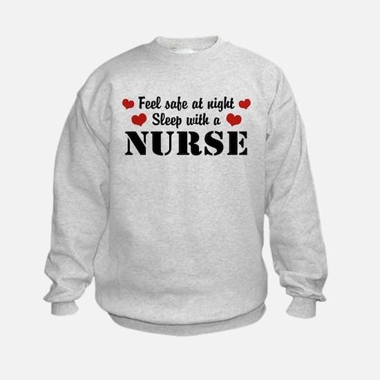 Feel Safe Sleep with a Nurse Sweatshirt