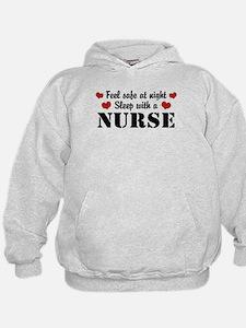 Feel Safe Sleep with a Nurse Hoodie