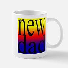 108.new dad rainbow back Mug