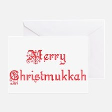 Christmukkah Greeting Card