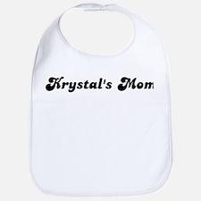 Krystals mom Bib