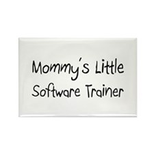Mommy's Little Software Trainer Rectangle Magnet