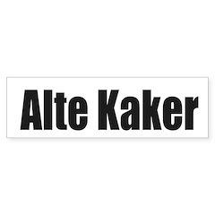 Alte Kaker Sticker (Bumper)
