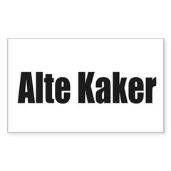 Alte Kaker Decal