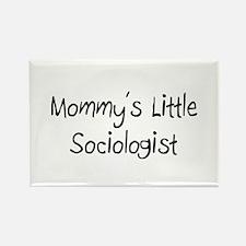 Mommy's Little Sociologist Rectangle Magnet
