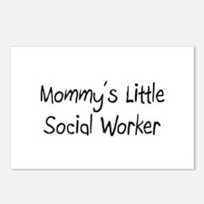 Mommy's Little Social Worker Postcards (Package of