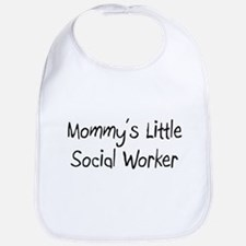 Mommy's Little Social Worker Bib