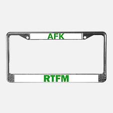 RTFM License Plate Frame