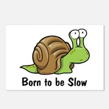 Born to Be Slow Postcards (Package of 8)