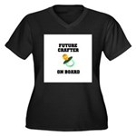 Future Crafter On Board - New Women's Plus Size V-
