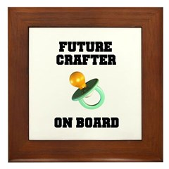 Future Crafter On Board - New Framed Tile