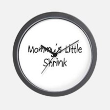 Mommy's Little Shrink Wall Clock