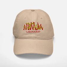 Dragon Ninja Librarian Baseball Baseball Cap