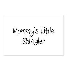 Mommy's Little Shingler Postcards (Package of 8)