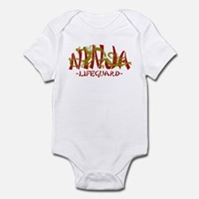 Dragon Ninja Lifeguard Infant Bodysuit