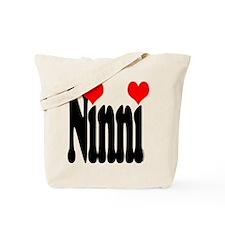 I love Ninni Tote Bag