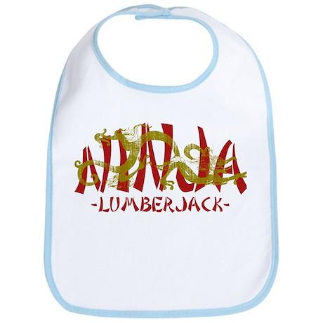 Dragon Ninja Lumberjack Bib