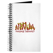 Dragon Ninja Massage Therapist Journal