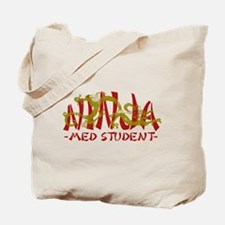 Dragon Ninja Med Student Tote Bag