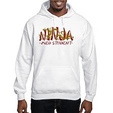 Dragon Ninja Med Student Hoodie