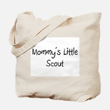 Mommy's Little Scout Tote Bag
