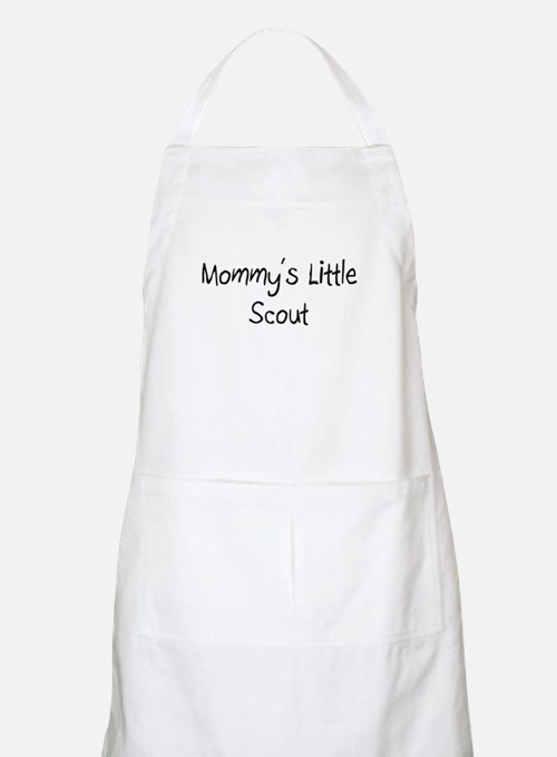 Mommy's Little Scout BBQ Apron
