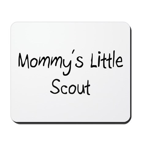 Mommy's Little Scout Mousepad