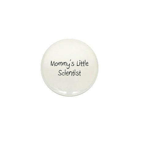 Mommy's Little Scientist Mini Button