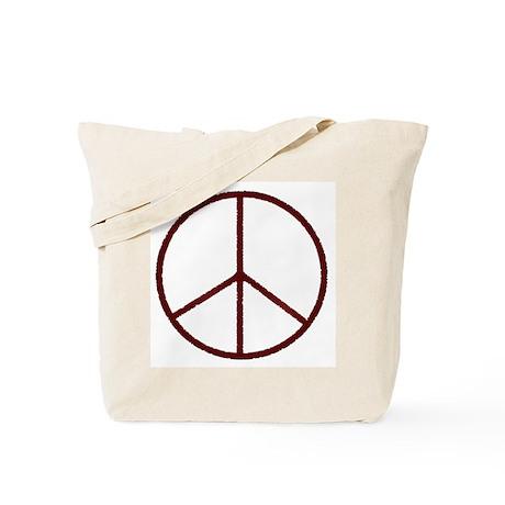 Peace Sign Tote Bag