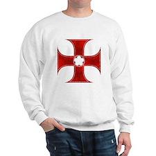 Templar Cross 2 Sweatshirt