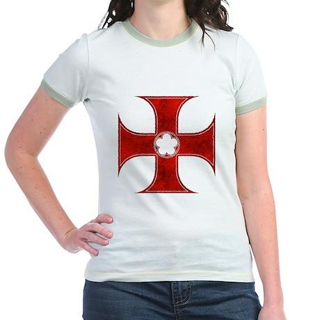 Templar Cross 2 Jr. Ringer T-Shirt