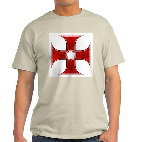 Templar Cross 2 Light T-Shirt
