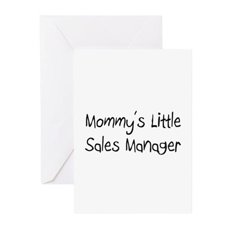 Mommy's Little Sales Manager Greeting Cards (Pk of