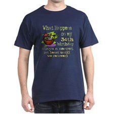 What Happens 34th T-Shirt