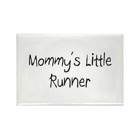 Mommy's Little Runner Rectangle Magnet (10 pack)