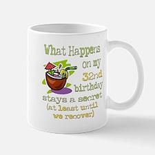 What Happens 32nd Mug