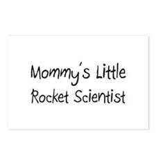 Mommy's Little Rocket Scientist Postcards (Package