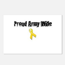 Proud Army Wife Postcards (Package of 8)