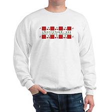 cherryland (red check) Sweatshirt