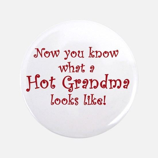 """Hot Grandma 3.5"""" Button"""