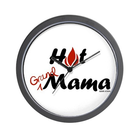 Hot Grandmama Wall Clock