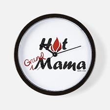 Hot Grandmama Wall Clock