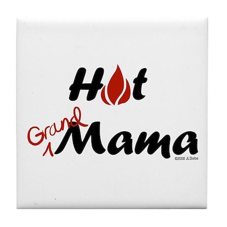 Hot Grandmama Tile Coaster