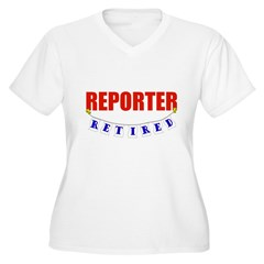 Retired Reporter T-Shirt